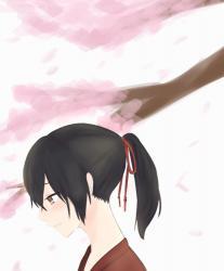 妖刀鬼と桜に散る